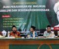 TPGP Helat Seminar Nasional Pengajuan Gelar Pahlawan Pendiri Laskar Sabilillah