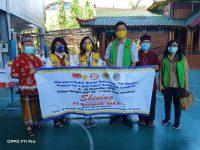 Lions-MS-YHMCHI Salurkan 200 Paket Sembako