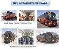 Mengintip Penampakan Bus Antar Kota Perhajian Pengantar Jemaah Indonesia
