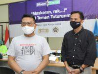 KSP Gandeng PWI Jatim Gelar Rapid Test Bagi Jurnalis di Surabaya