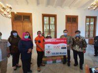Gajah Tunggal Group Sumbang 100 Ribu Masker Kepada Pemprov Jawa Timur