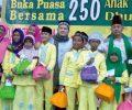 Komunitas Sedekah Bukber Dengan 250 Yatim-Dhuafa