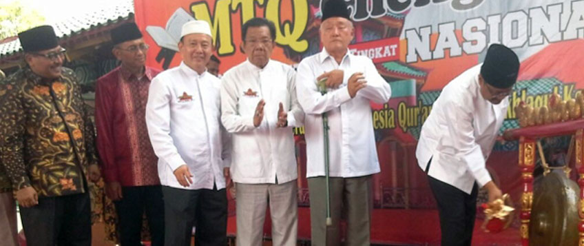 Wagub Jatim Buka MTQ Cheng Hoo 2017 di Surabaya
