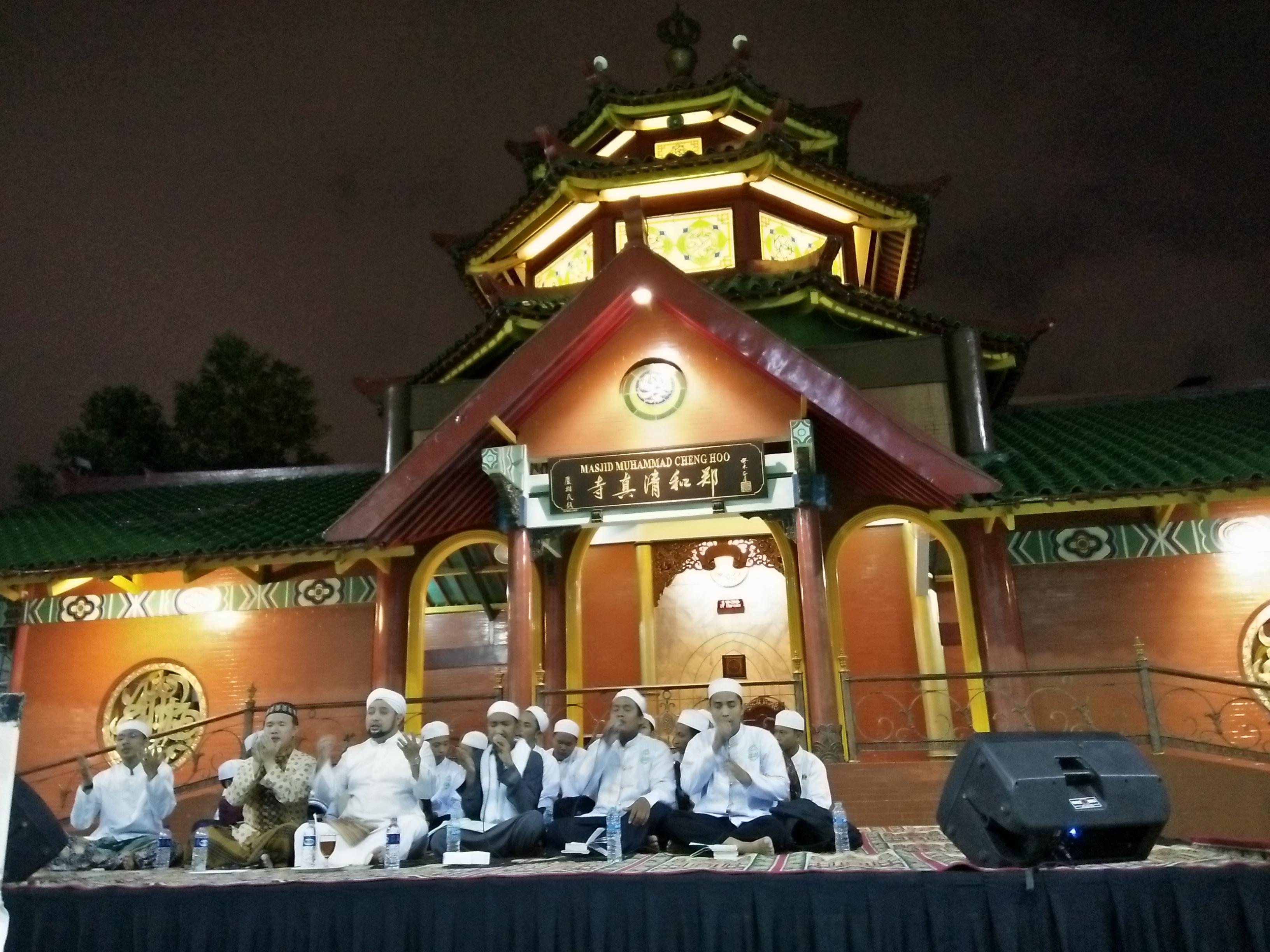 Peringati Maulid Nabi, Masjid Cheng Hoo Surabaya Gelar Pengajian Akbar