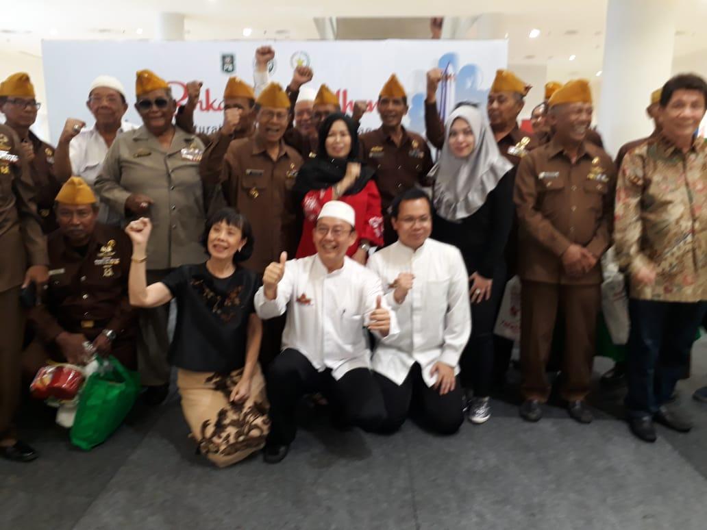 Berkah Ramadhan Bersama 400 Veteran Surabaya