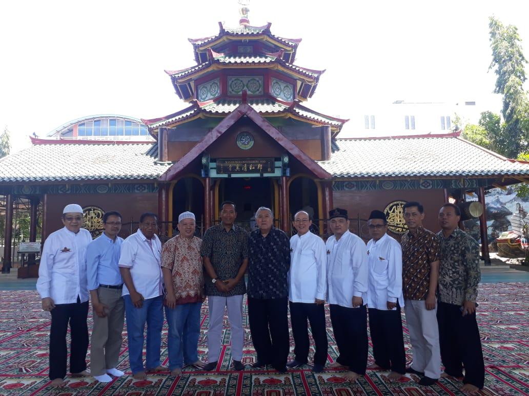 Rektor UMM Silaturrahim ke Masjid Cheng Hoo