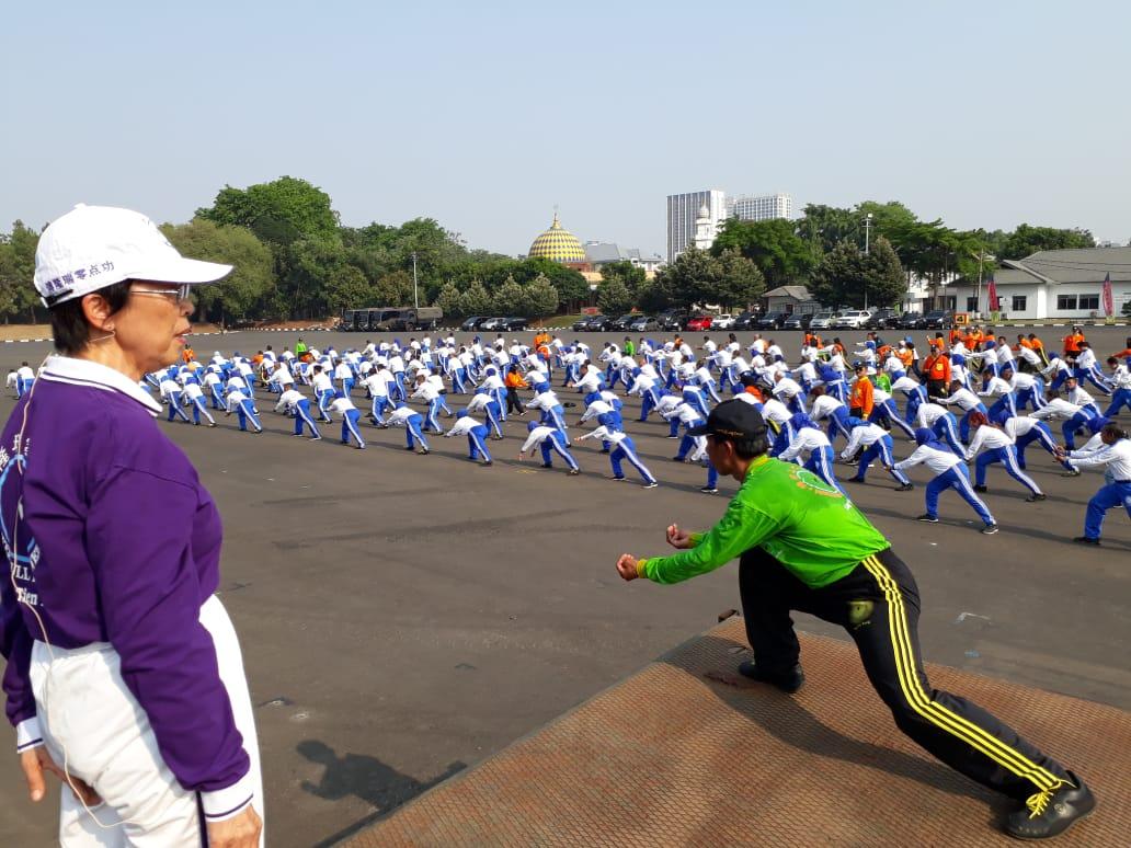 467 Calon Instruktur Ling Tien Kung Digembleng di Mako Marinir Jakarta