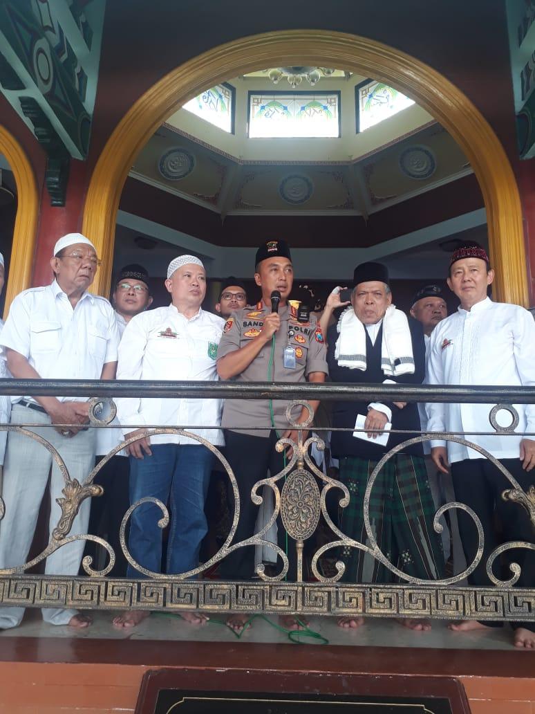 Doa Keselamatan Indonesia di Masjid Cheng Hoo